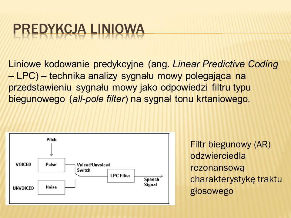 Predykcja liniowa