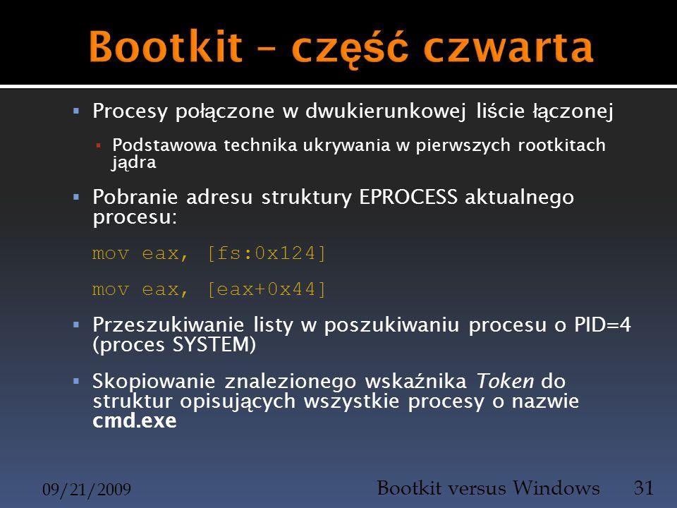 Bootkit – część czwarta