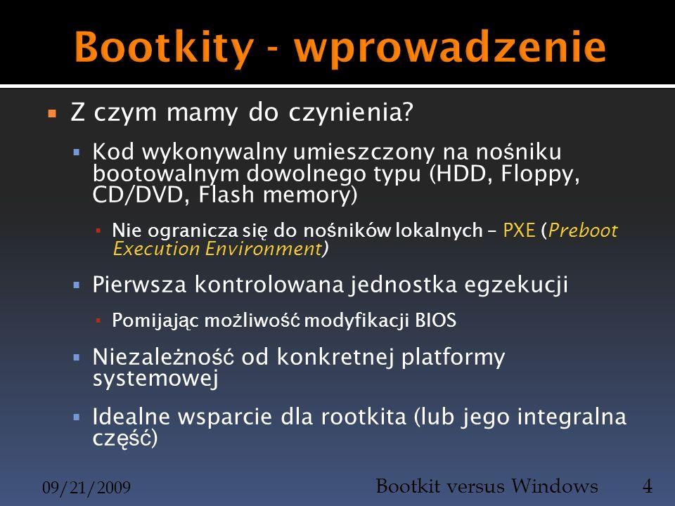 Bootkity - wprowadzenie