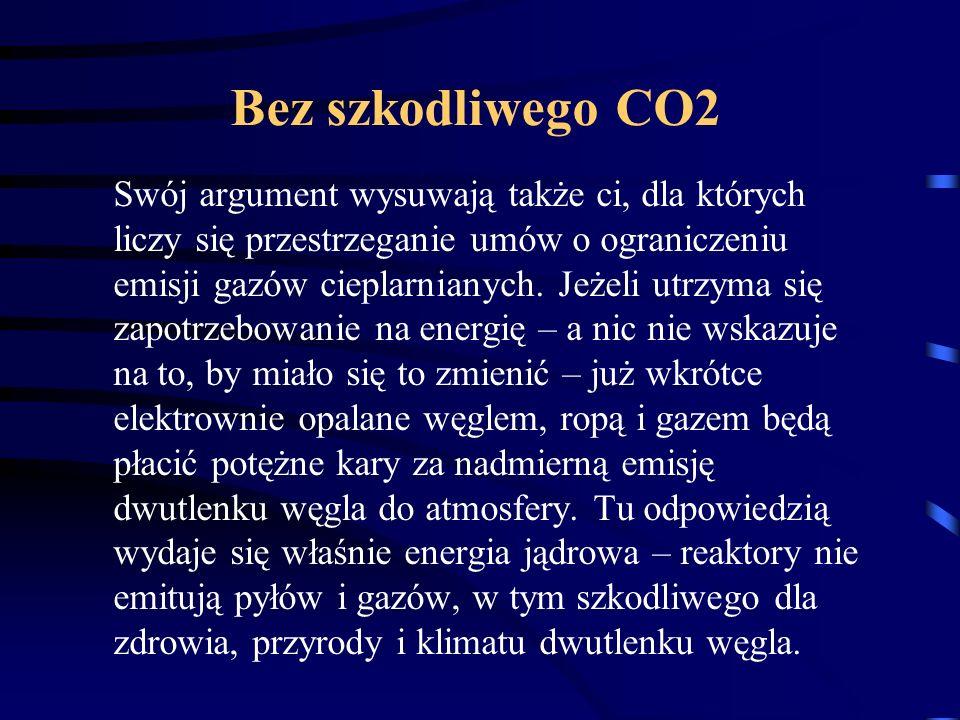 Bez szkodliwego CO2
