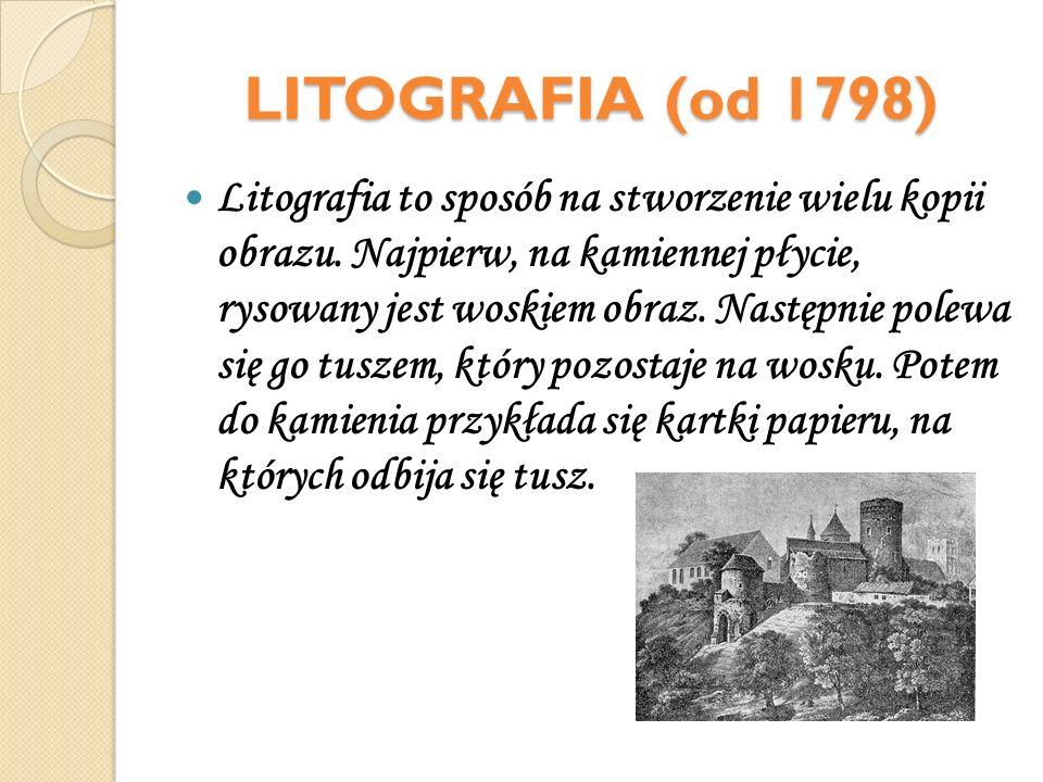 LITOGRAFIA (od 1798)