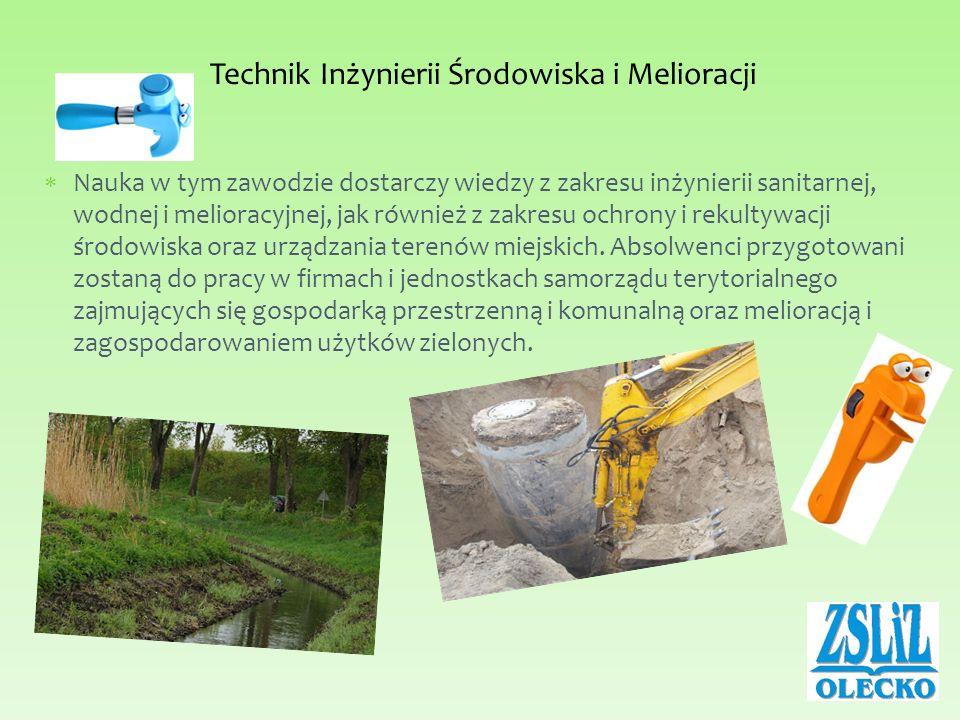 Technik Inżynierii Środowiska i Melioracji