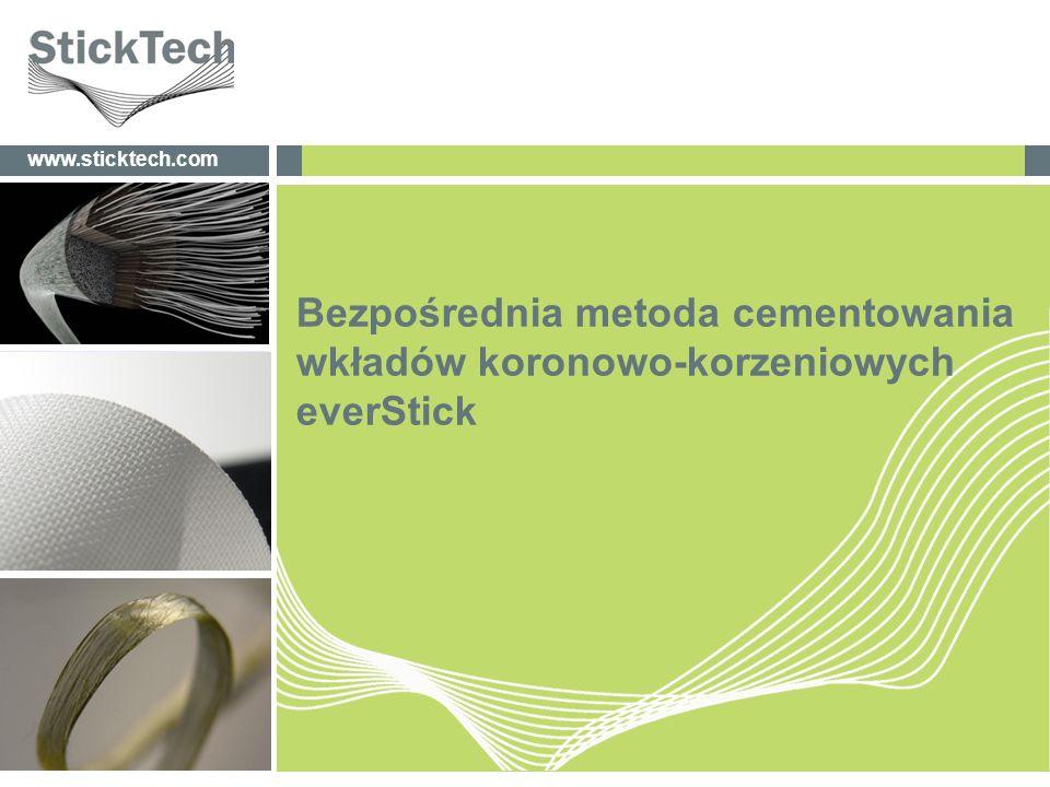Bezpośrednia metoda cementowania wkładów koronowo-korzeniowych everStick