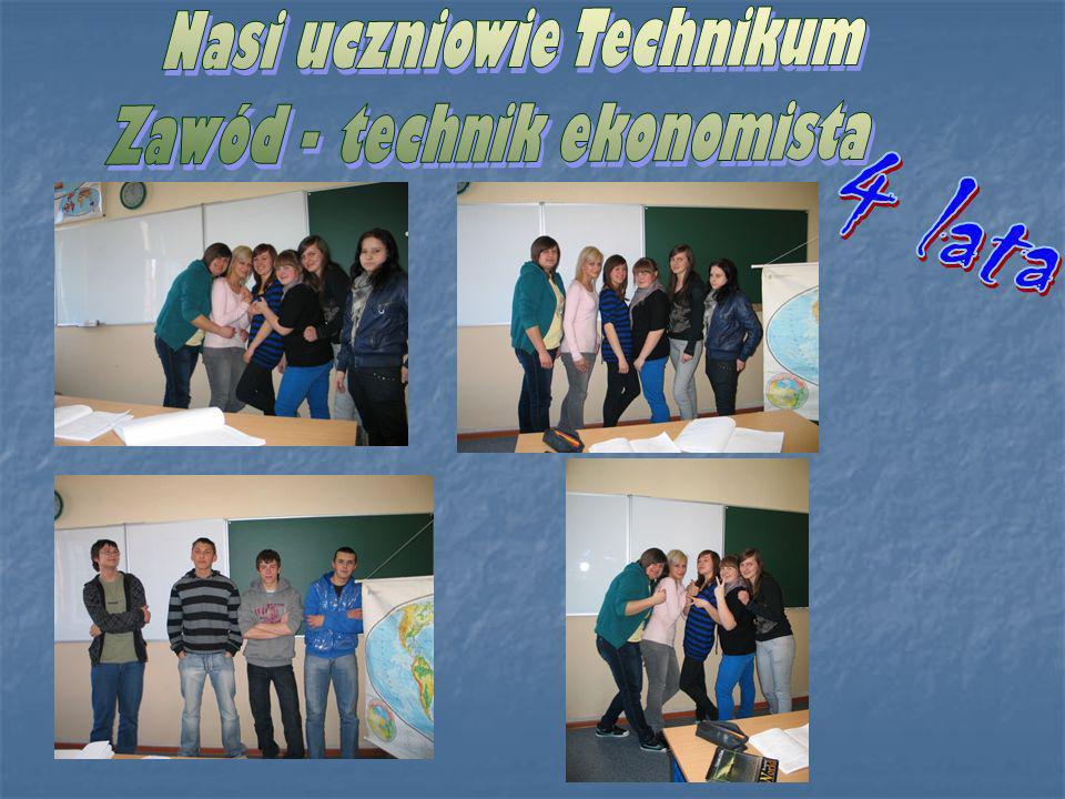 Nasi uczniowie Technikum Zawód - technik ekonomista
