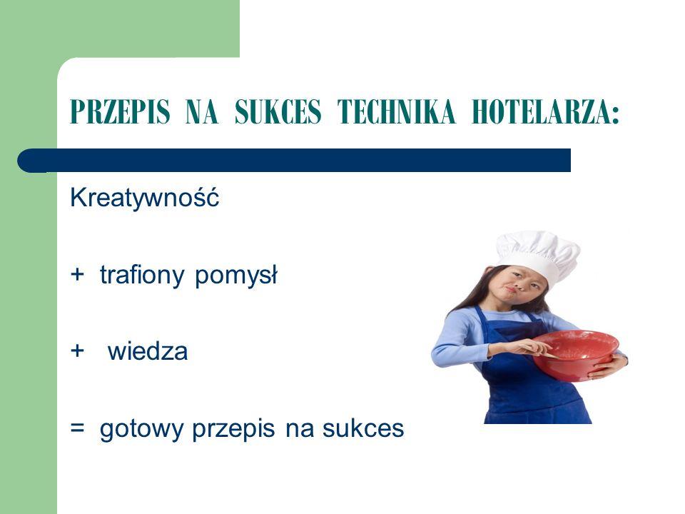 PRZEPIS NA SUKCES TECHNIKA HOTELARZA: