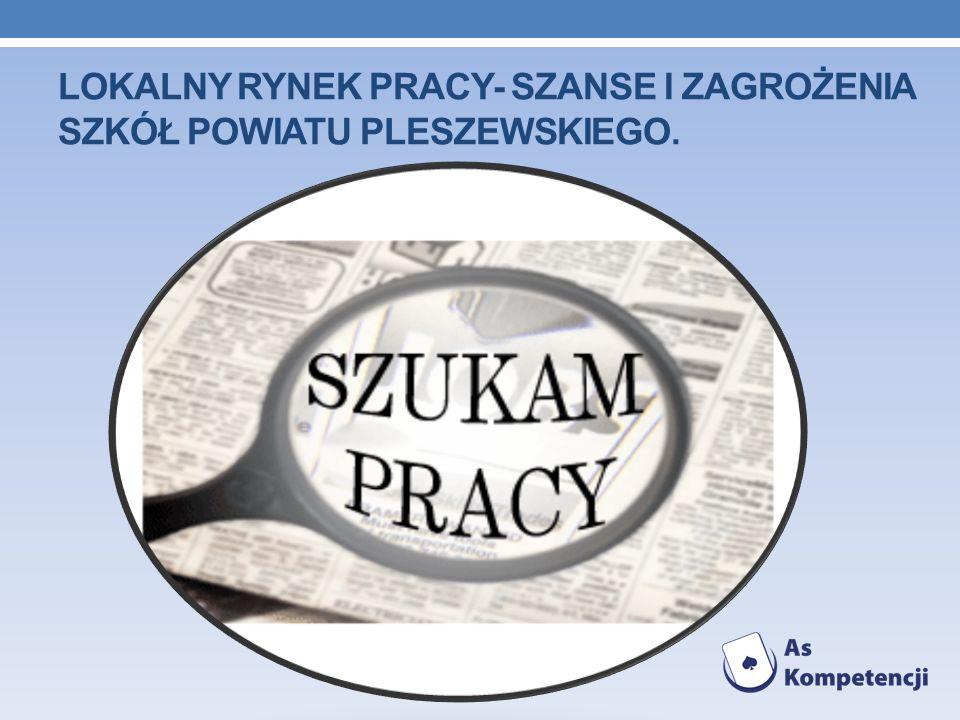 Lokalny rynek pracy- szanse i zagrożenia szkół powiatu pleszewskiego.