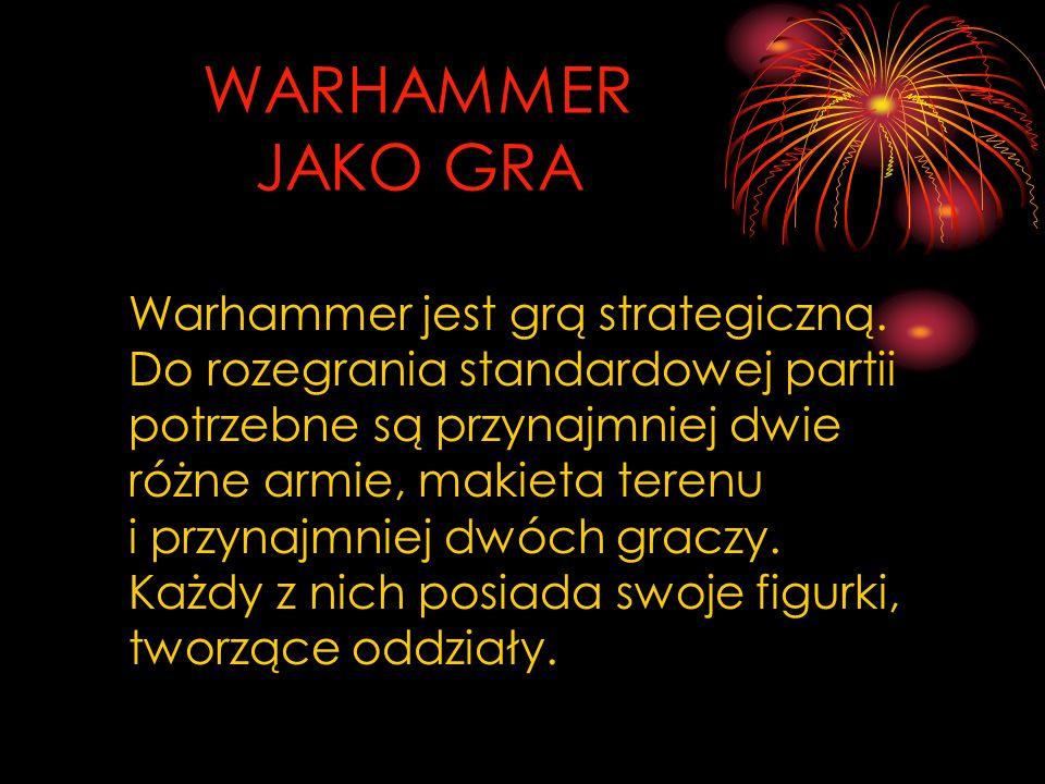 WARHAMMER JAKO GRA