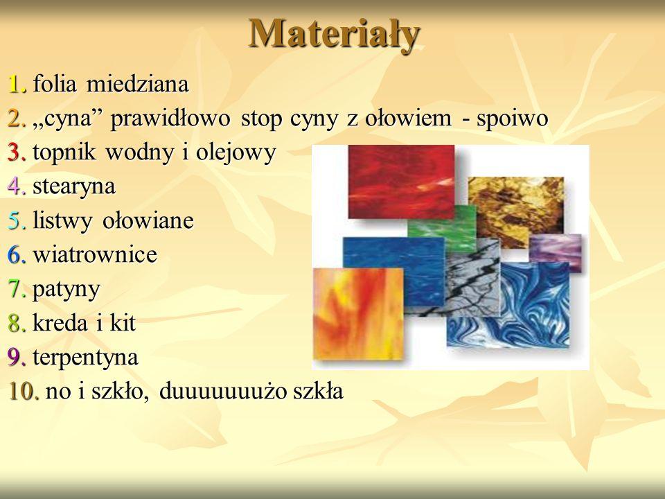 Materiały 1. folia miedziana