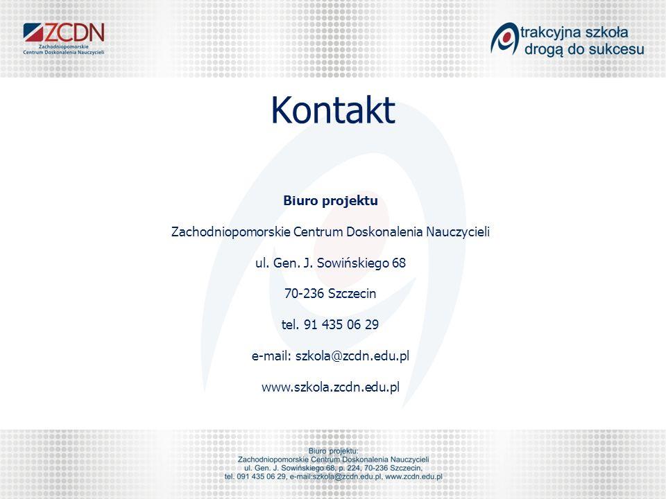 Kontakt Biuro projektu