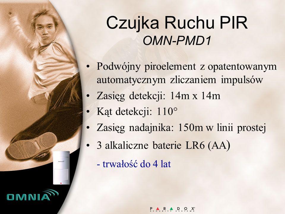 Czujka Ruchu PIR OMN-PMD1