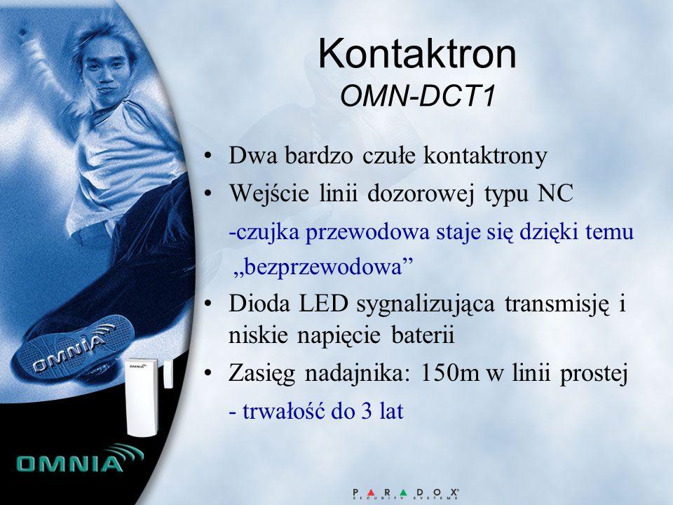 Kontaktron OMN-DCT1 Dwa bardzo czułe kontaktrony