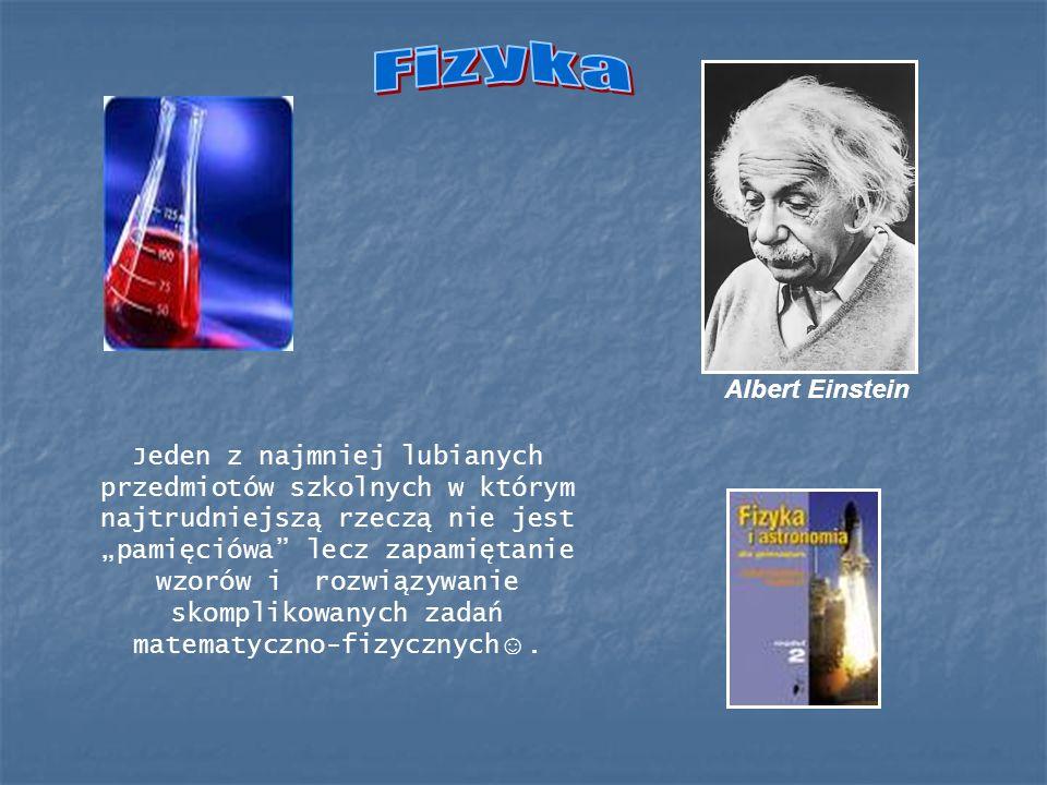 Fizyka Albert Einstein