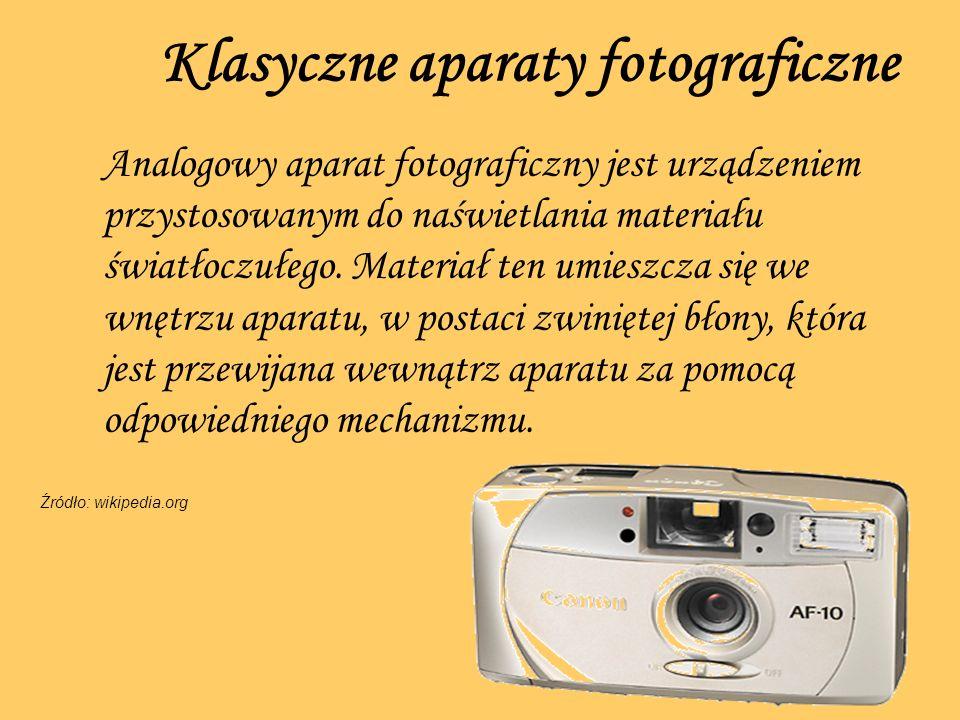 Klasyczne aparaty fotograficzne