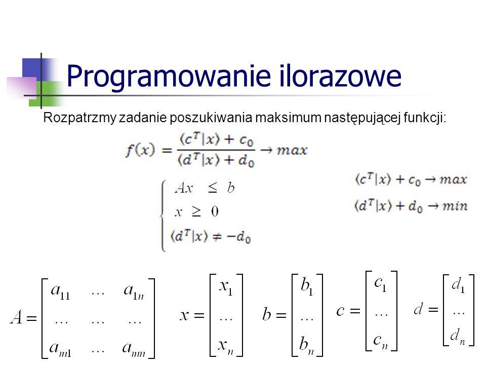 Programowanie ilorazowe