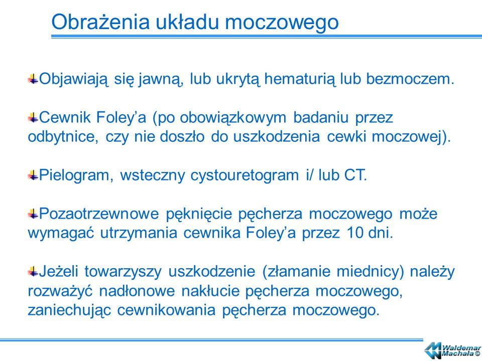 Obrażenia układu moczowego