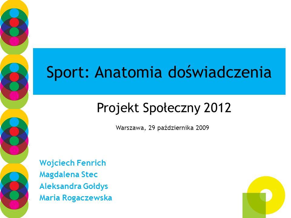 Sport: Anatomia doświadczenia