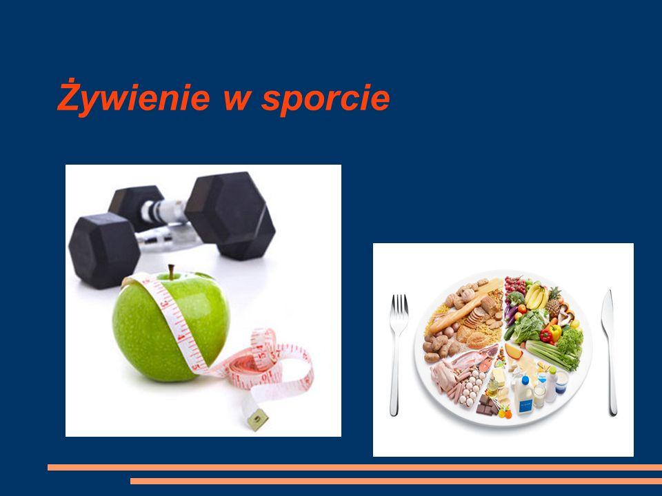 Żywienie w sporcie