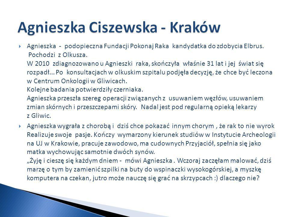 Agnieszka Ciszewska - Kraków