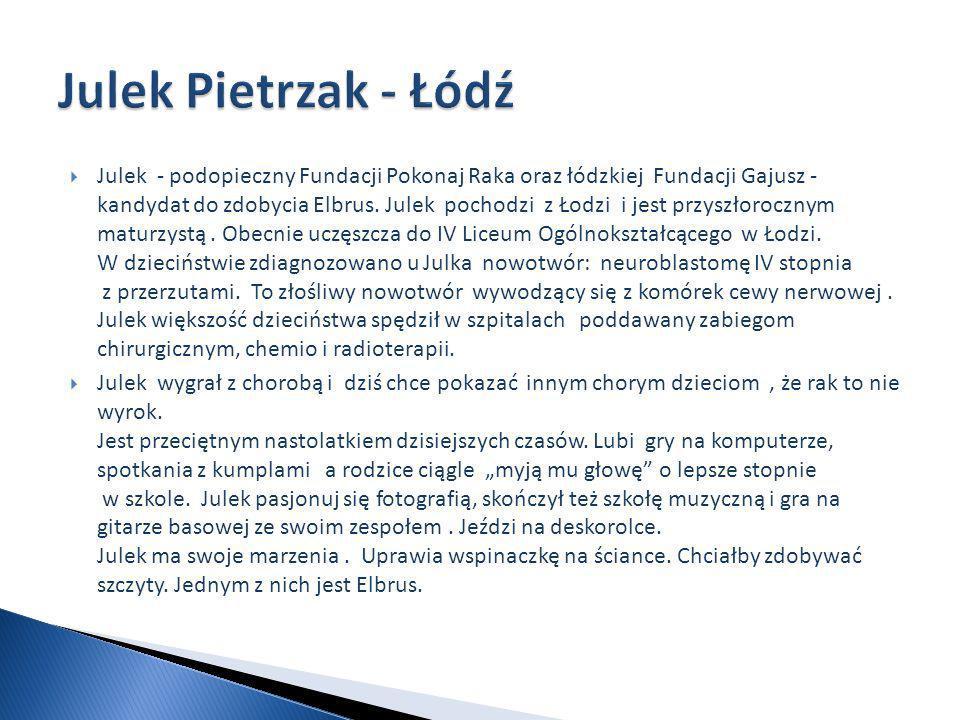 Julek Pietrzak - Łódź