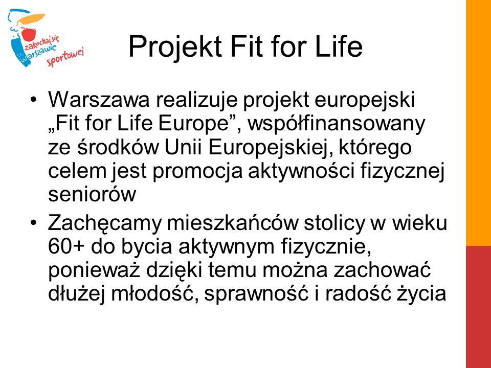 Projekt Fit for Life