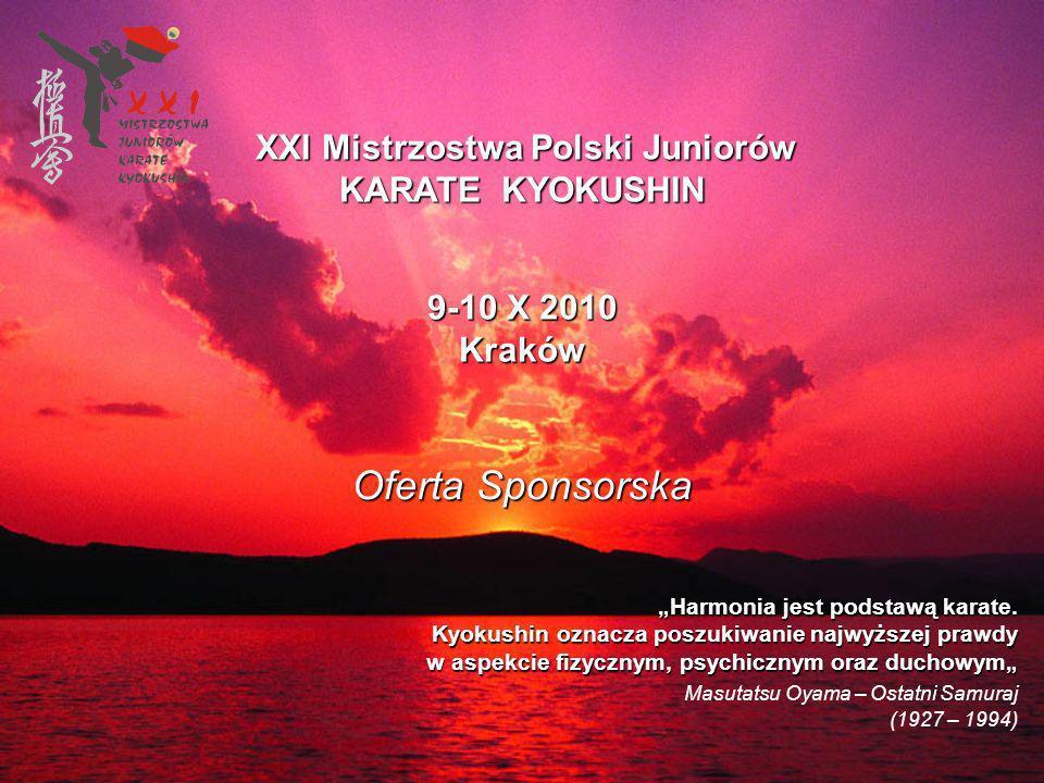 XXI Mistrzostwa Polski Juniorów KARATE KYOKUSHIN