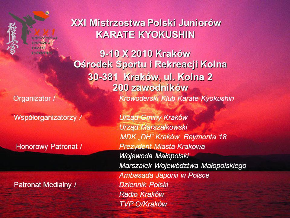 9-10 X 2010 Kraków Ośrodek Sportu i Rekreacji Kolna