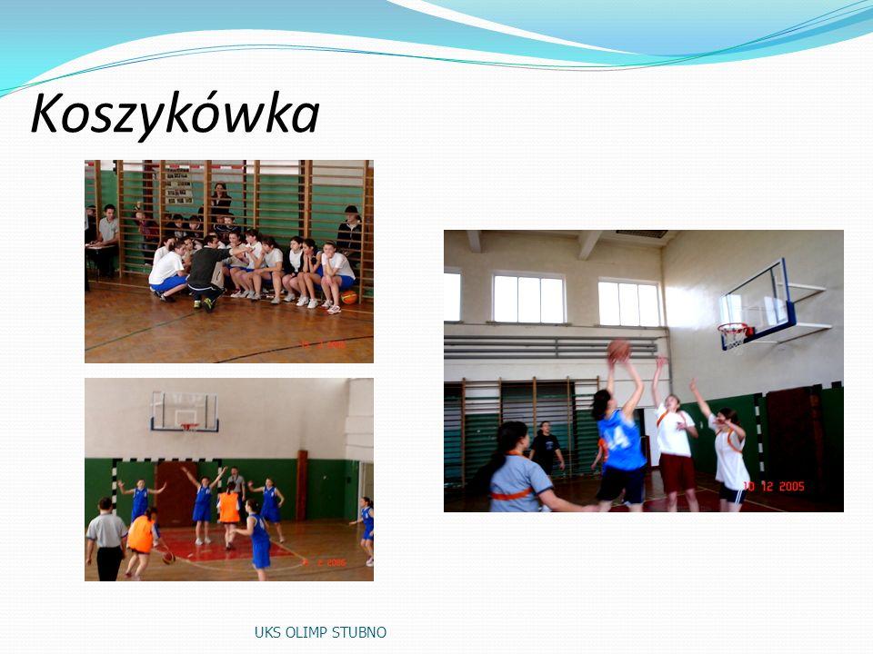 Koszykówka UKS OLIMP STUBNO
