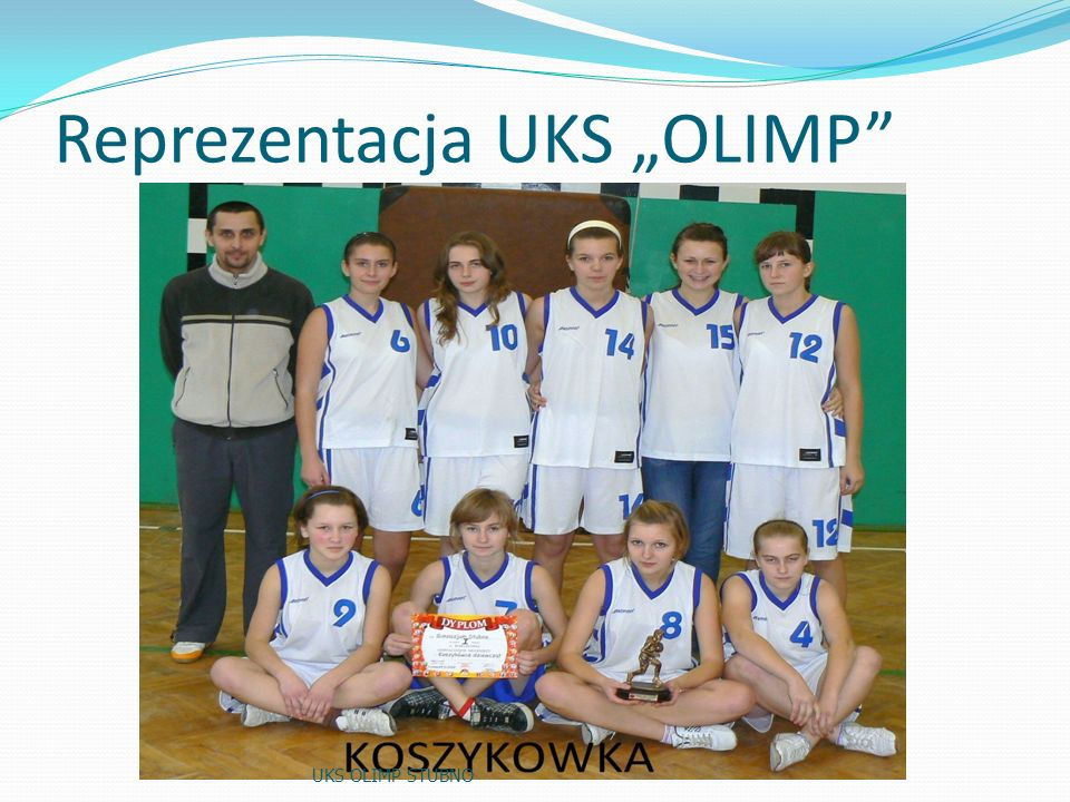 "Reprezentacja UKS ""OLIMP"