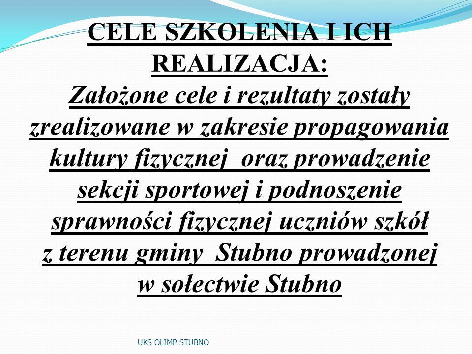 z terenu gminy Stubno prowadzonej