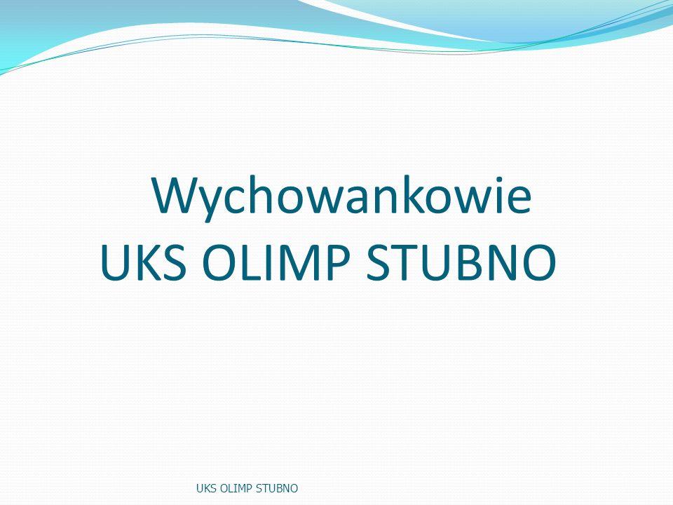 Wychowankowie UKS OLIMP STUBNO