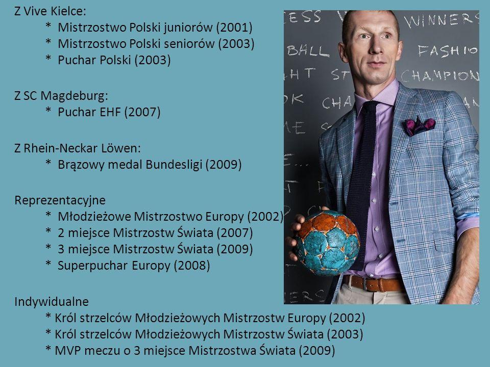 Z Vive Kielce:. Mistrzostwo Polski juniorów (2001)