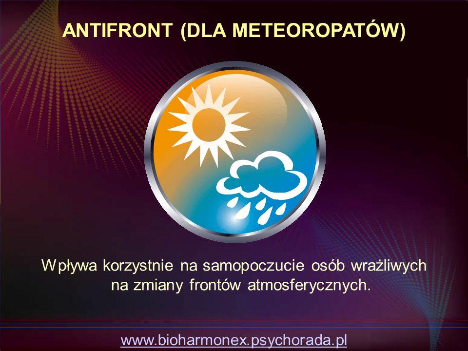 ANTIFRONT (DLA METEOROPATÓW)