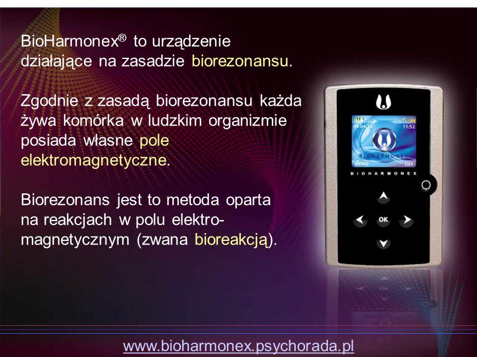 BioHarmonex® to urządzenie działające na zasadzie biorezonansu.