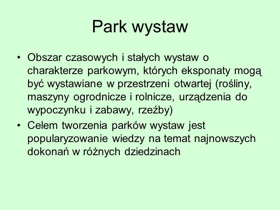 Park wystaw