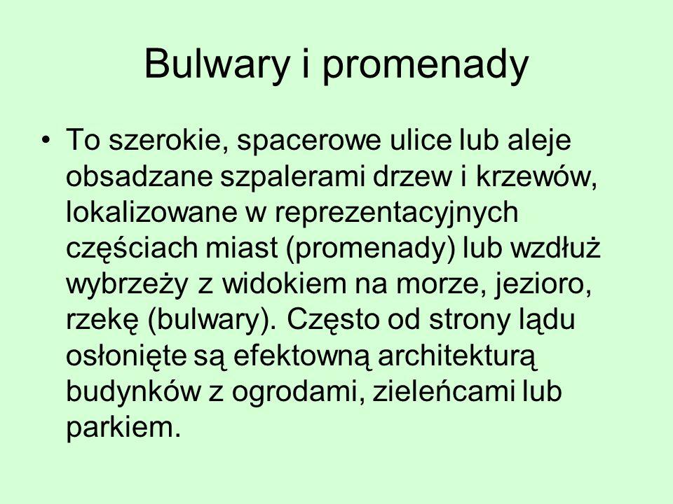 Bulwary i promenady