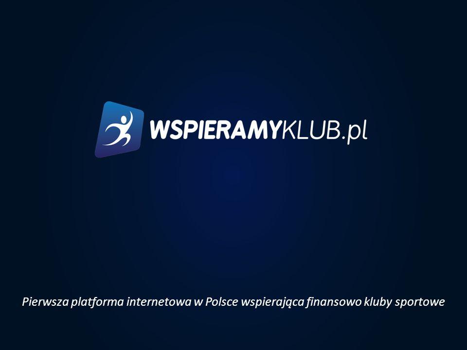 Pierwsza platforma internetowa w Polsce wspierająca finansowo kluby sportowe