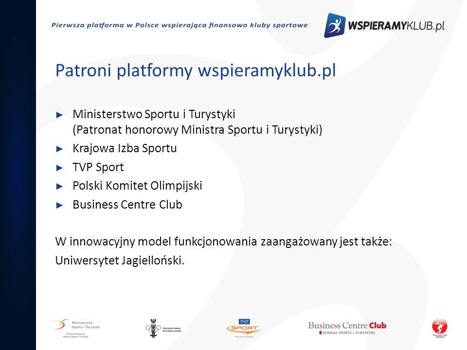 Patroni platformy wspieramyklub.pl