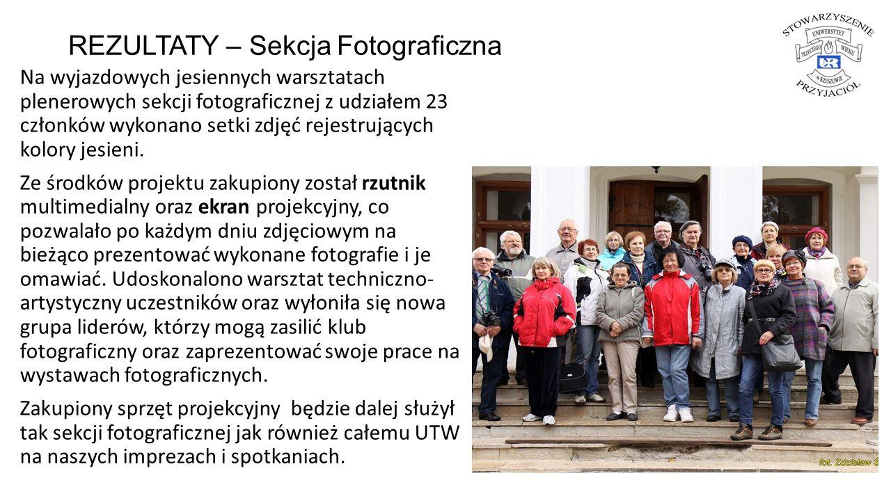 REZULTATY – Sekcja Fotograficzna