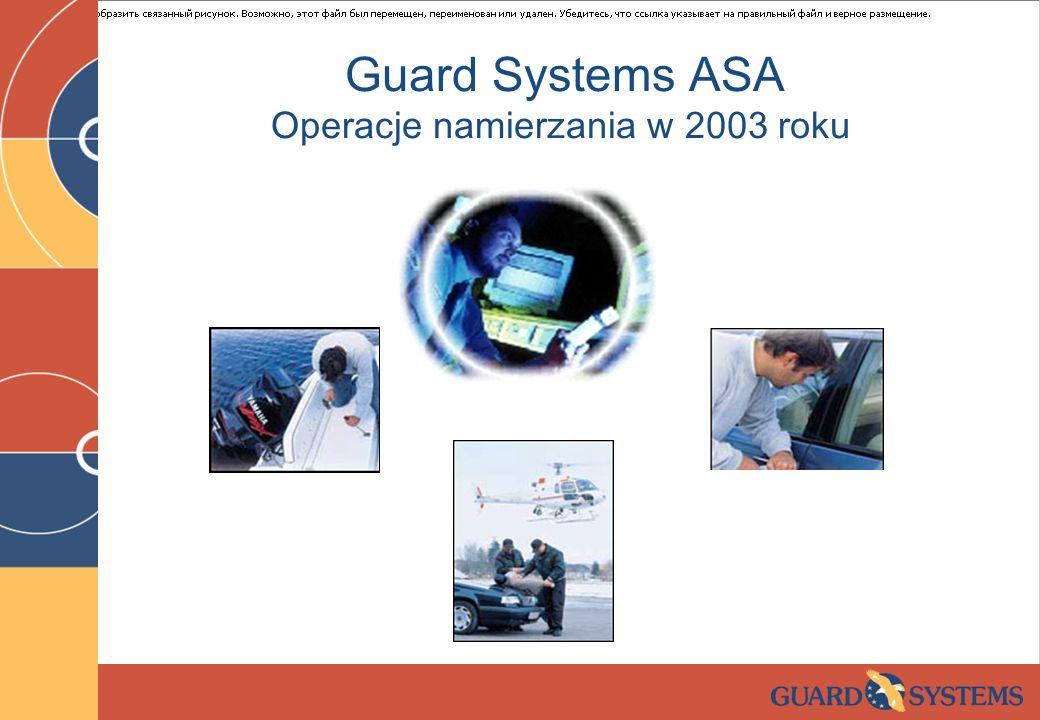 Operacje namierzania w 2003 roku