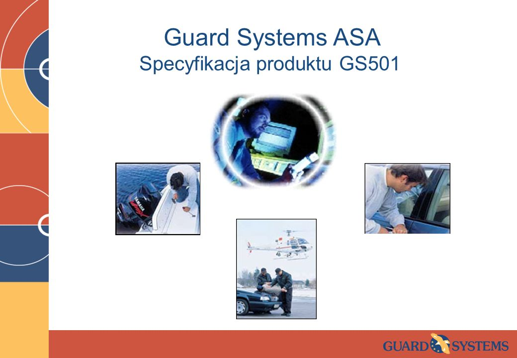 Specyfikacja produktu GS501