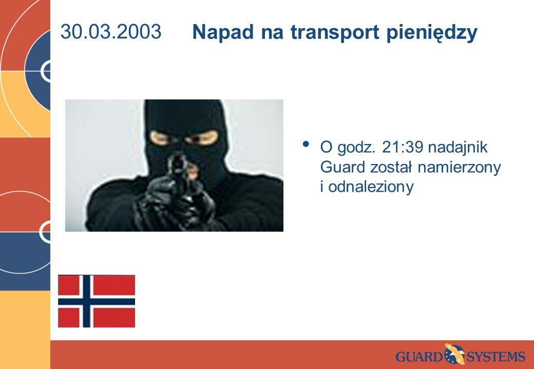 Napad na transport pieniędzy