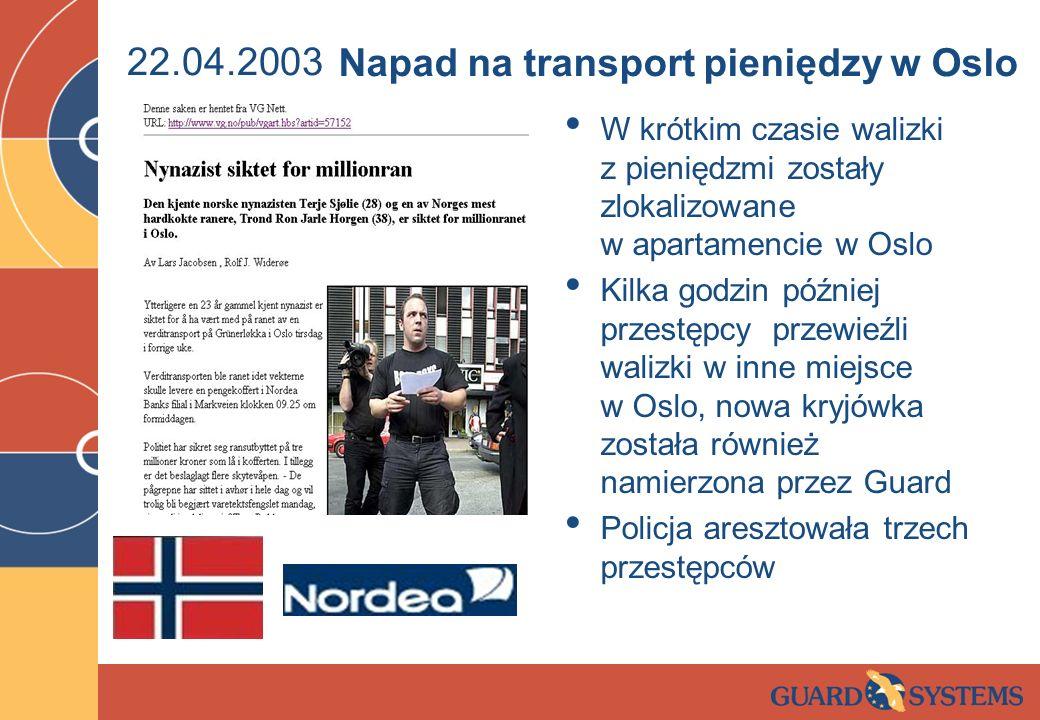 Napad na transport pieniędzy w Oslo