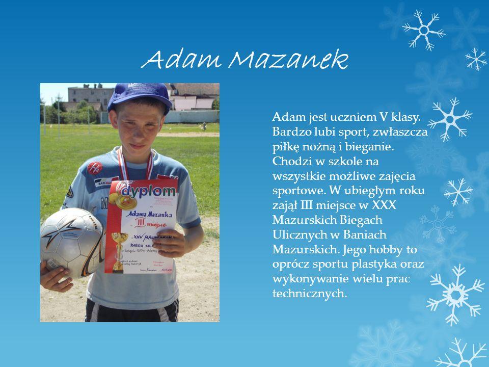 Adam Mazanek
