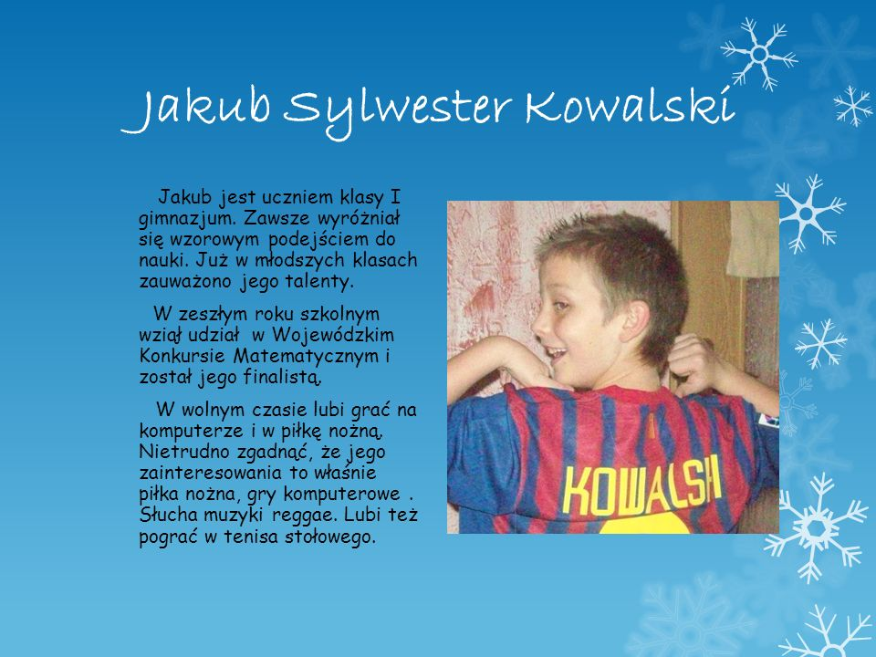 Jakub Sylwester Kowalski