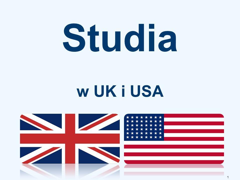 Studia w UK i USA