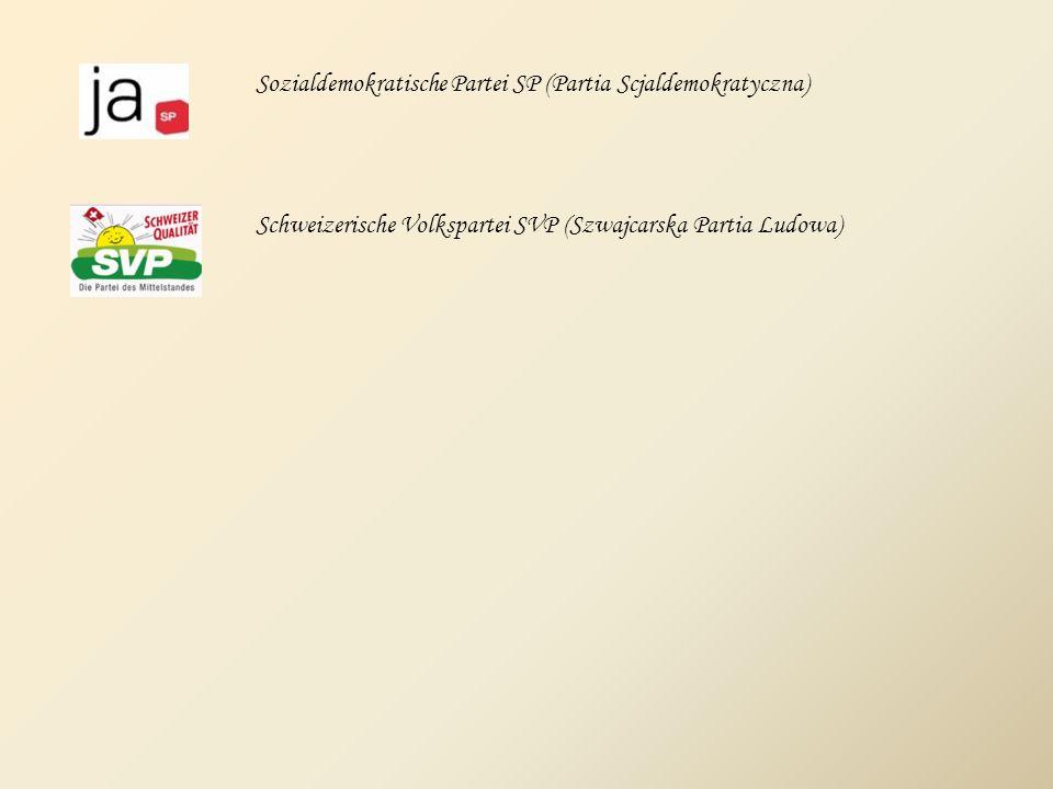 Sozialdemokratische Partei SP (Partia Scjaldemokratyczna)