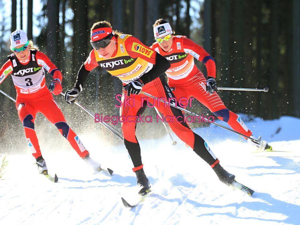 Ski runner Biegaczka Narciarska