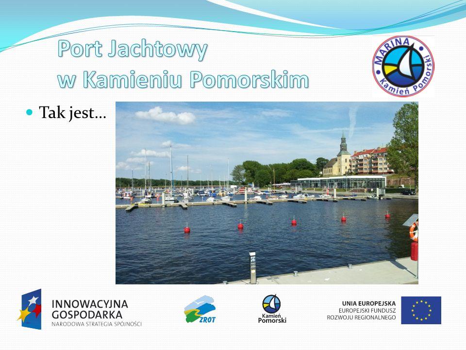 Port Jachtowy w Kamieniu Pomorskim
