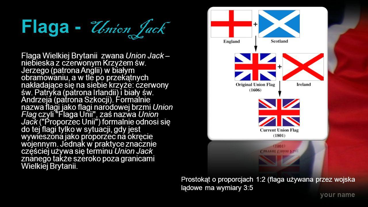 Flaga - Union Jack
