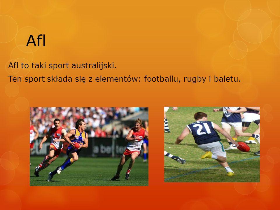 Afl Afl to taki sport australijski.